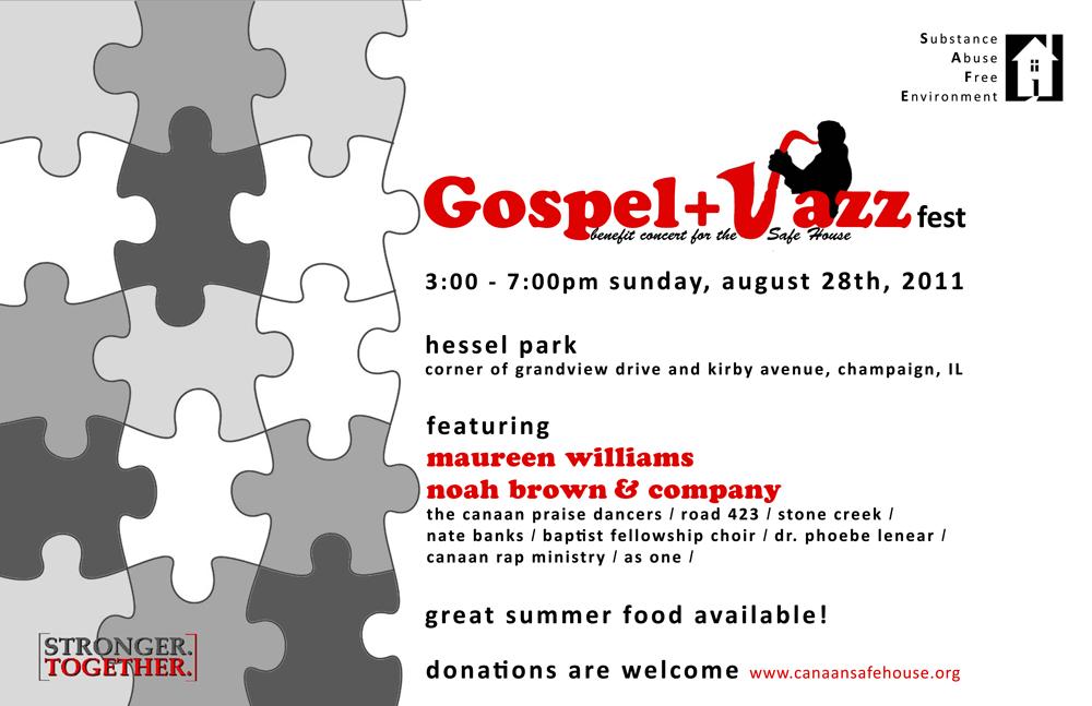 2011 Canaan SAFEHouse Jazz and Gospel Fest